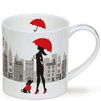 Чашка Dunoon Orkney City Chic Зонтик, фото