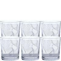 Набор для виски Egizia Static из 6 стаканов, фото