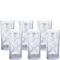 Набор стаканов Egizia Static из 6 стаканов, фото