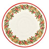 Тарелка обеденная Villa Grazia Зимний букет 29см, фото