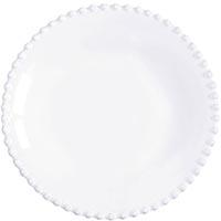 Тарелка для супа Costa Nova Pearl 24см белая, фото