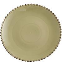 Тарелка обеденная 28см Costa Nova Pearl зеленая, фото