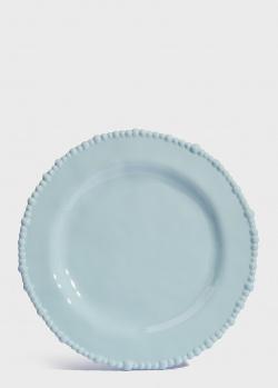 Тарелка обеденная Baci Milano Joke Table & Kitchen 28см голубая, фото