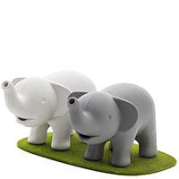 Набор из солонки и перечницы Qualy Elephant, фото