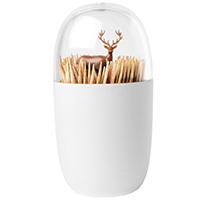 Подставка для зубочисток Qualy Deer Meadow с держателем в виде оленя, фото