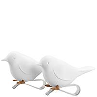 Держатели для салфеток Qualy Sparrow Napkin белого цвета, фото