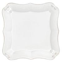 Тарелка Costa Nova Barroco белого цвета 14х14см, фото