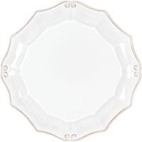 Набор из 6 тарелок для салата Costa Nova Barroco белого цвета 21см, фото
