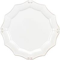 Набор из 6 тарелок Costa Nova Barroco белого цвета 30см, фото