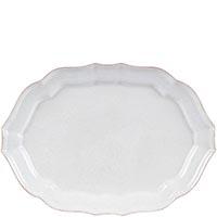 Блюдо овальное Costa Nova Impressions белое 35х28см белое, фото