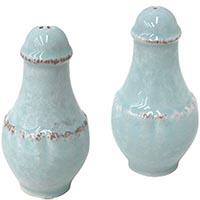 Солонка и перечница Costa Nova Impressions голубого цвета, фото