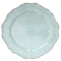 Тарелка обеденная Costa Nova Impressions голубая 30см, фото
