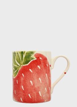 Чайная чашка Villa Grazia Фруктовый коктейль диаметром 9см, фото