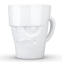 Чашка c ручкой Tassen (58 Products) Grumpy глянцевая белая, фото