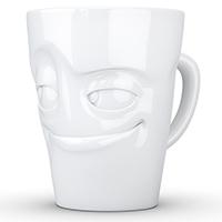 Чашка c ручкой Tassen (58 Products) Impish глянцевая белая, фото