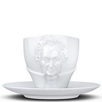 Чашка с блюдцем Tassen Johann Wolfgang von Goethe, фото