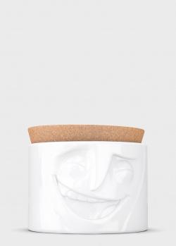 Емкость для хранения Tassen (58 Products) Cheerful с пробковой крышкой 900мл, фото