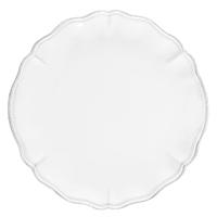 Тарелка обеденная Costa Nova Alentejo белого цвета 27см, фото
