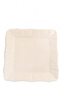 Керамическое блюдо Villa Grazia квадратной формы 35х35см, фото