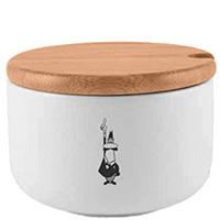 Сахарница Bialetti Omino с деревянной крышкой, фото