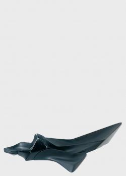 Модульное блюдо Alessi Niche черного цвета, фото