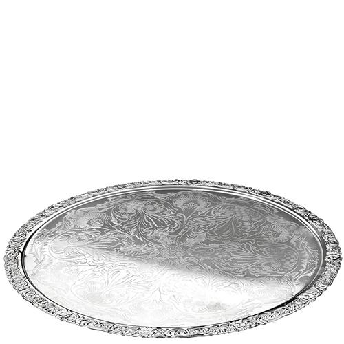 Подстановочная тарелка Queen Anne с декоративными узорами, фото