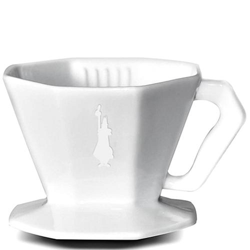 Белый пуровер Bialetti Pour Over из керамики, фото