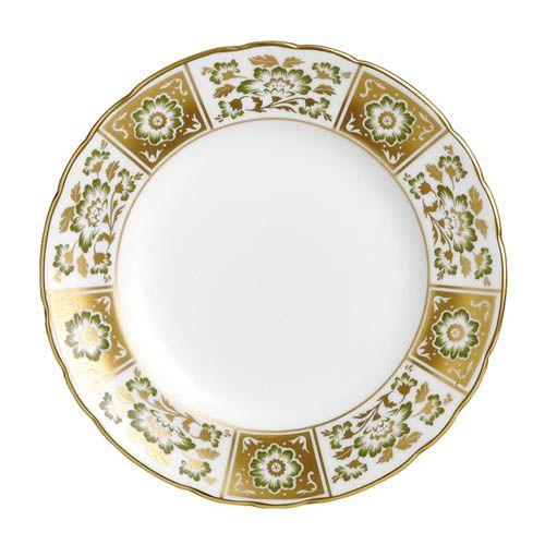 Тарелка Royal Crown Derby Panel Green 21.5 см, фото