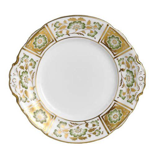 Тарелка для хлеба Royal Crown Derby Panel Green 23 см, фото