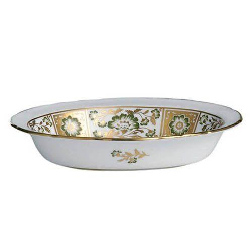 Глубокая тарелка Royal Crown Derby Panel Green 21.3 см, фото