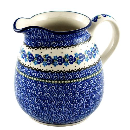 Кувшин Ceramika Artystyczna Озерная свежесть большой, фото