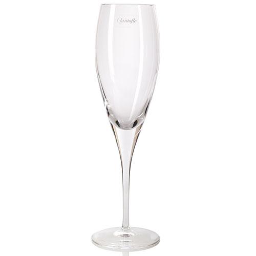 Набор хрустальных бокалов для шампанского Christofle, фото
