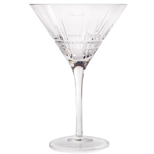 Набор хрустальных бокалов для мартини Christofle Scottich, фото