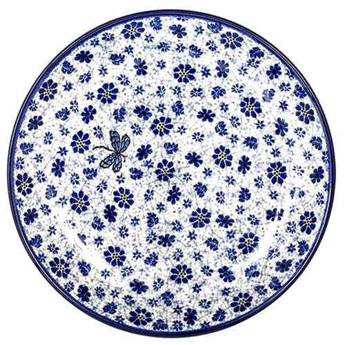 Набор десертных тарелок Ceramika Artystyczna Стрекоза, фото