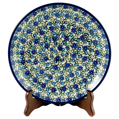 Тарелка десертная Ceramika Artystyczna Колокольчики, фото
