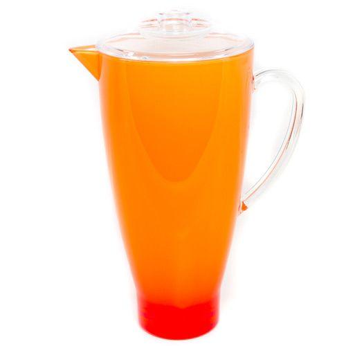 Яркий оранжевый кувшин Plastik Kuo, фото