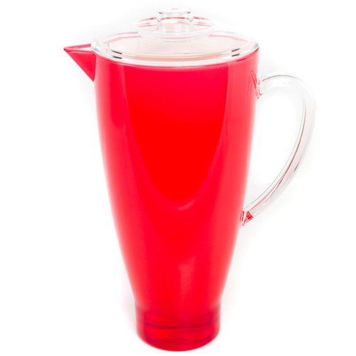Яркий красный кувшин Plastik Kuo, фото