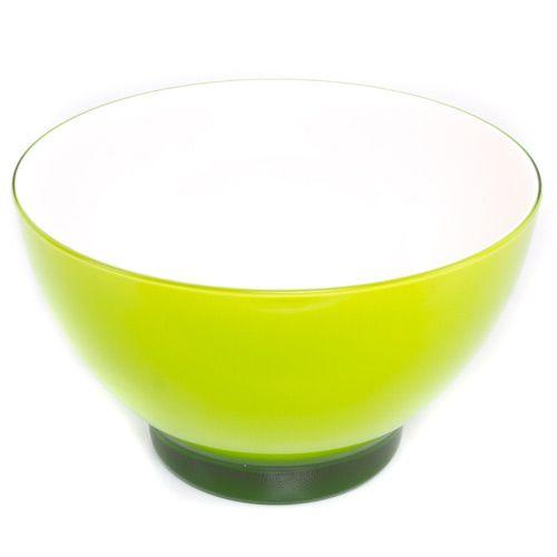 Яркий зеленый салатник Plastik Kuo, фото