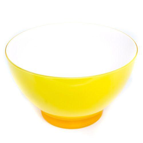 Яркий желтый салатник Plastik Kuo, фото