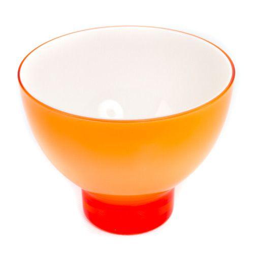 Яркий оранжевый салатник Plastik Kuo, фото