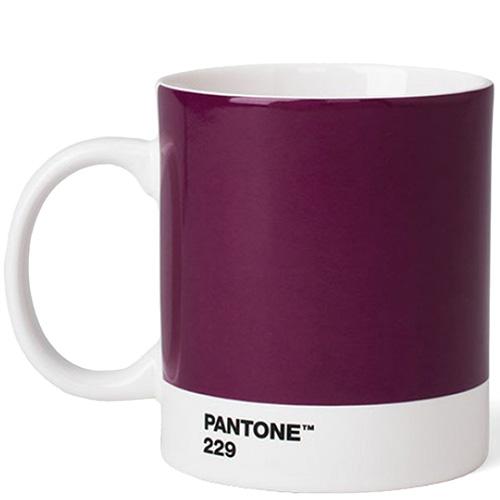 Чашка Pantone Aubergine 229 из керамики, фото