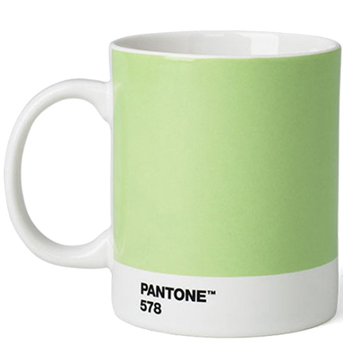 Кружка для кофе и чая Pantone Light Green 578, фото