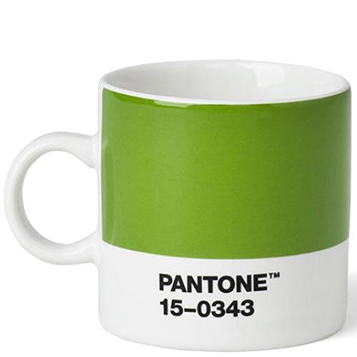 Кофейная чашка Pantone Green 15-0343 120 мл, фото