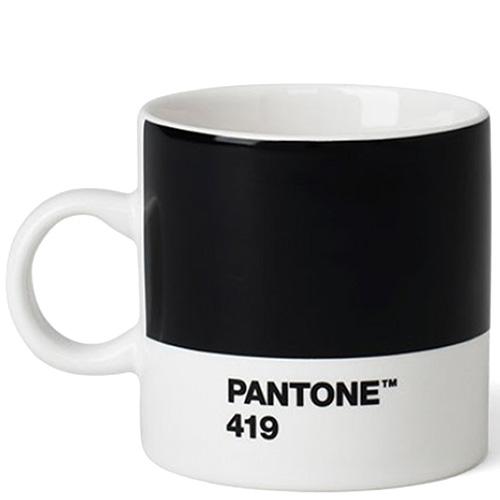 Черная кофейная чашка Pantone Black 419 120 мл, фото