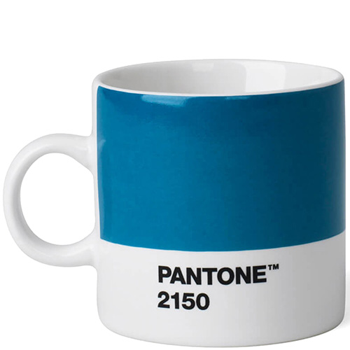 Чашка эспрессо Pantone Blue 2150 120 мл голубого цвета, фото