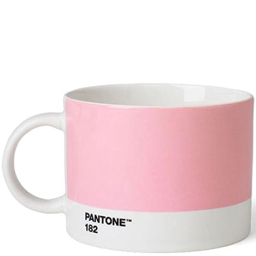 Розовая керамическая чашка Pantone Light Pink 182, фото