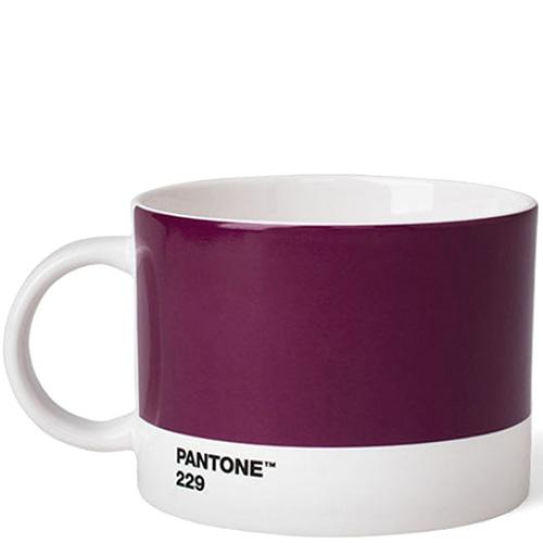 Большая чашка Pantone Aubergine 229 из керамики, фото