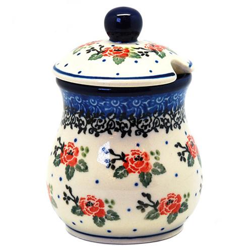 Банка для меда Ceramika Artystyczna Чайная роза, фото