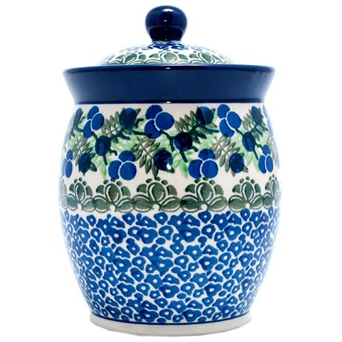 Ёмкость для сыпучих Ceramika Artystyczna Ягодная поляна, фото