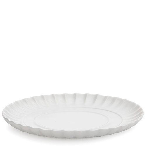 Волнистая тарелка Seletti белого цвета , фото